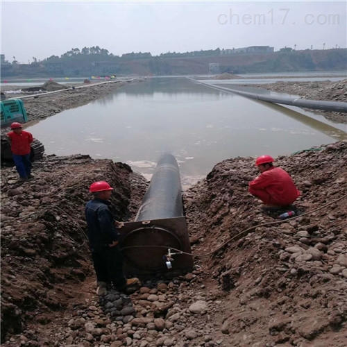 取排水管道水下安裝-施工作業