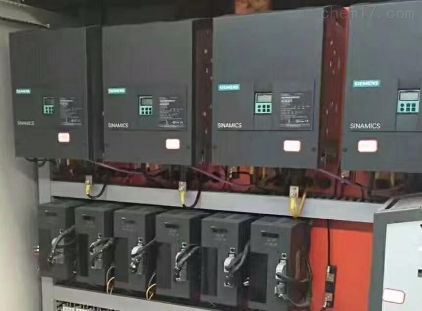 西门子6RA80直流控制器上电跳闸(专业维修