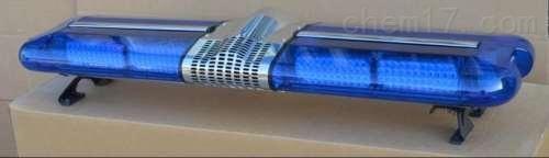 全蓝LED爆闪长排灯  警笛喊话开道用 依维柯