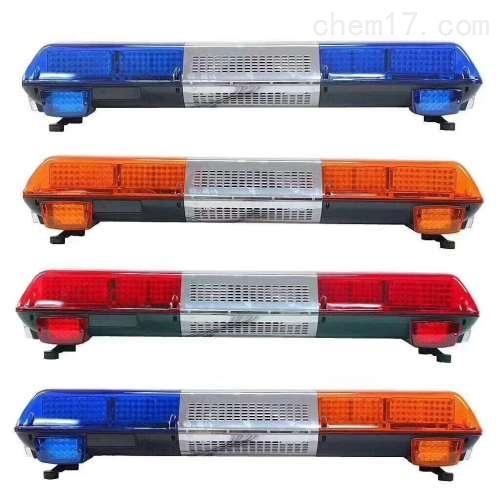 蓝色长排警示灯警报  12V 蓝色全蓝