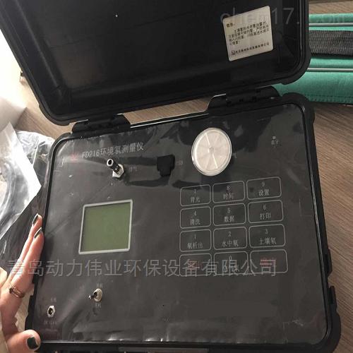 环境氡测量仪测氡仪的使用