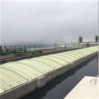 可定制四川玻璃钢污水池拱形盖板说明书