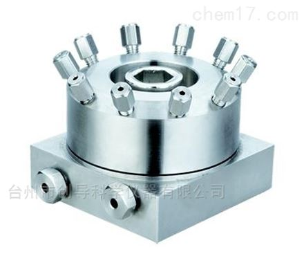 工业流程气动隔膜进样/切换阀