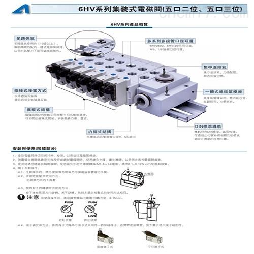 武威亚德客电磁阀4V210适用范围