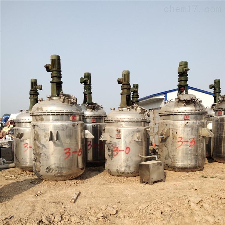 销售二手10吨不锈钢反应釜回收处理