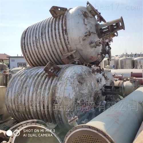 低价出售二手10吨不锈钢反应釜