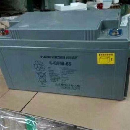 南都6-GFM-65 12V65H 铅酸免维护蓄电池