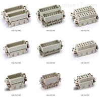 HA-010-M矩形连接器HA系列插芯