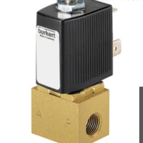 BURKERT 直动式两位三通柱塞电磁阀  6012