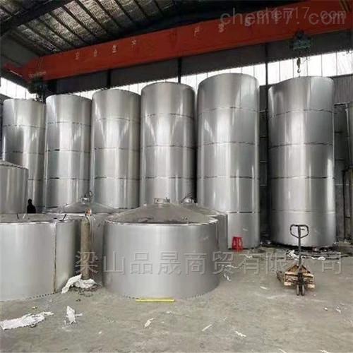 供应二手立式不锈钢储罐厂家