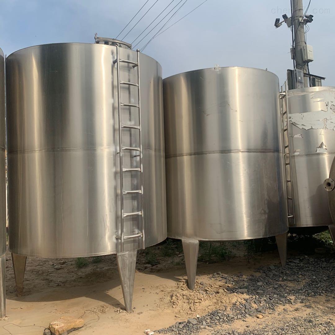 二手10吨不锈钢储罐