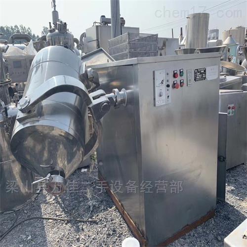 工厂闲置600L三维混合机减价出售
