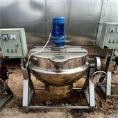 500L现货出售二手不锈钢电加热夹层锅