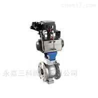 VQ647H、VQ677H气动V型调节球阀