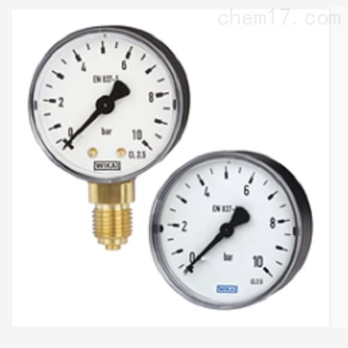 威卡波登管压力表标准型111.10 111.12