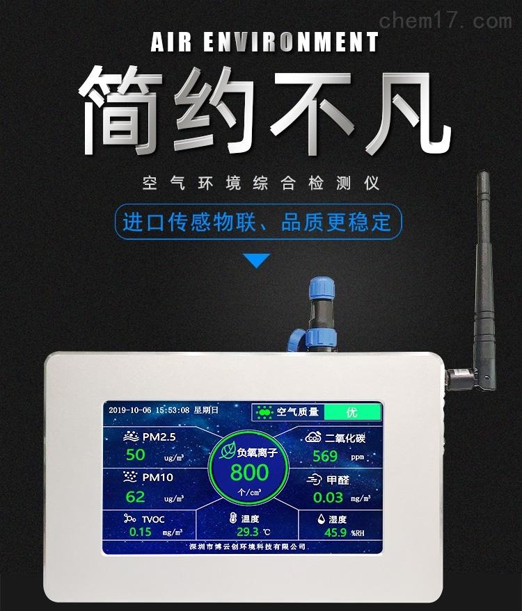 多參數空氣負氧離子監測儀介紹圖1