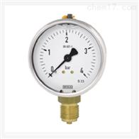 WIKA 威卡波登管压力表 不锈钢表壳 充液型113.53