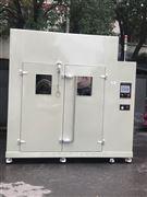 昆山大型步入式盐雾室/盐干湿循环试验室。