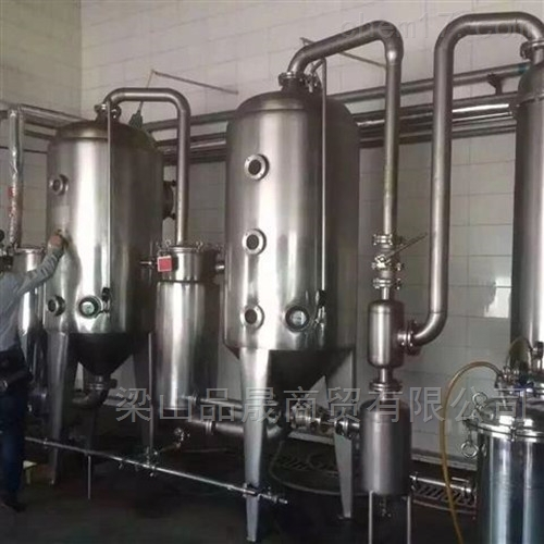 二手4吨双效降膜蒸发器价格