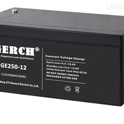 GE24-12 12V24AH美国GERCH GE24-12 12V24AH蓄电池