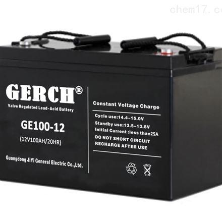 美国GERCH GE100-12 12V100AH蓄电池