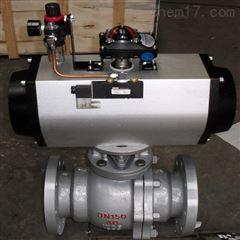 Q641F-40C-150气动碳钢球阀