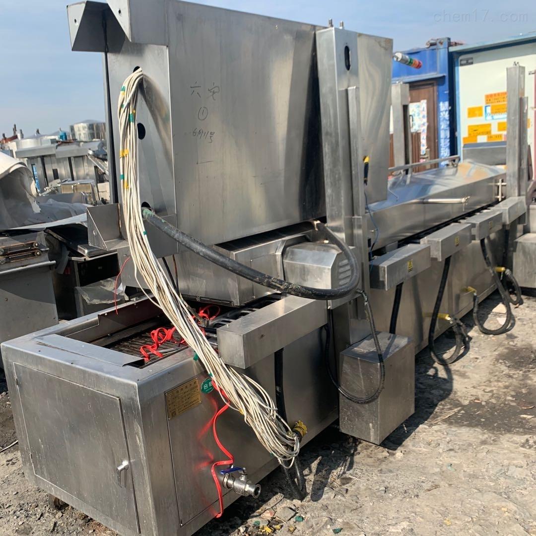 二手电加热油炸生产线6米
