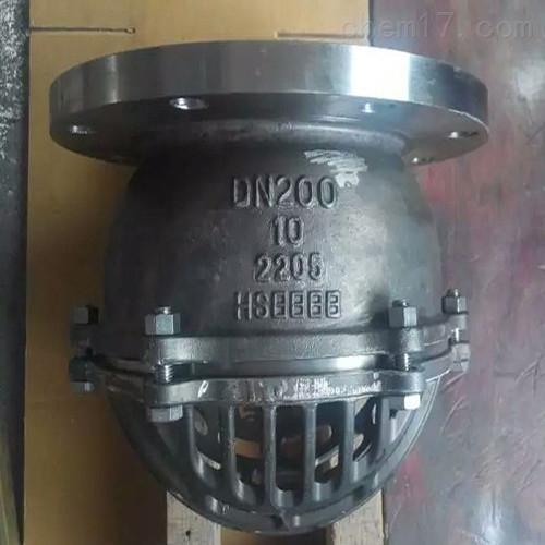 瓯北厂家2205双相钢底止回阀