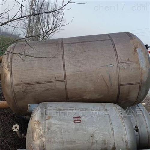 二手15吨不锈钢搅拌罐