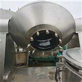 2000L回收二手搪瓷双锥真空干燥机