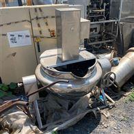 高价回收二手300升 蒸汽加热夹层锅
