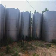 1-100吨厂家回收卧式不锈钢储存罐