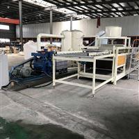 全自動硅質滲透聚苯保溫板設備生產線