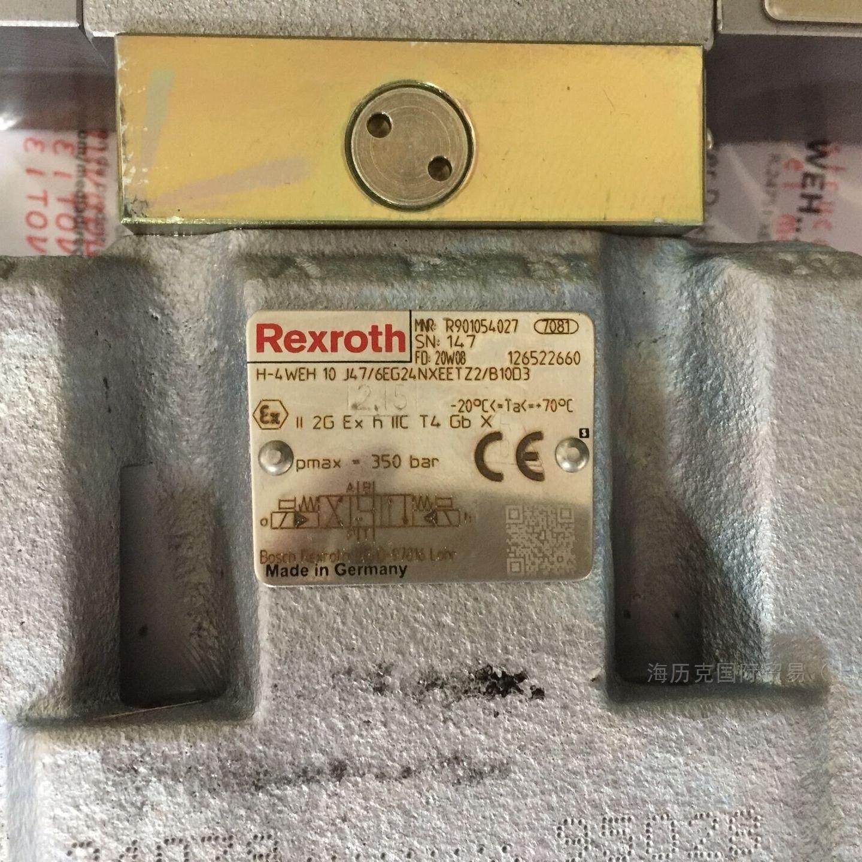 Rexoth力士乐先导式方向阀R901054027到货啦