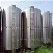大量现货二手不锈钢储罐处理