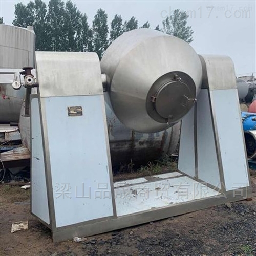 长期出售二手不锈钢双锥干燥机
