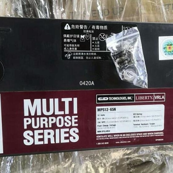 大力神蓄电池MPS12-65N销售中心