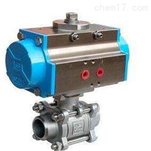 质量保证Q661H/Q661Y气动对焊式球阀