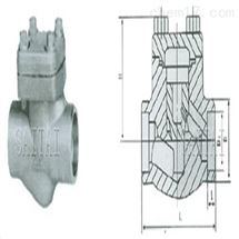 厂家H61H承插焊锻钢止回阀直销