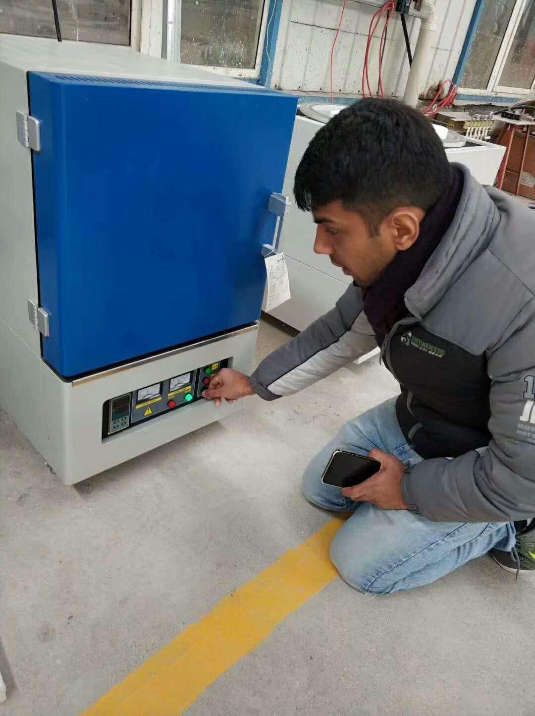 感谢北京科技大学采购1200度箱式炉