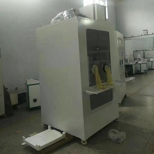 青岛路博自主研发了一款移动式核酸采样隔离箱
