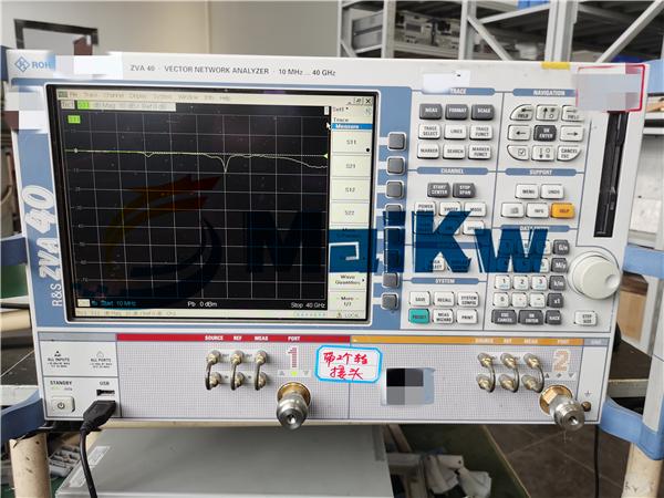網絡分析儀ZVA40維修接收通道報錯不準
