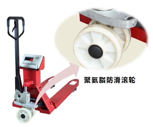 <strong>2.5吨手动标签打印电子叉车秤</strong>