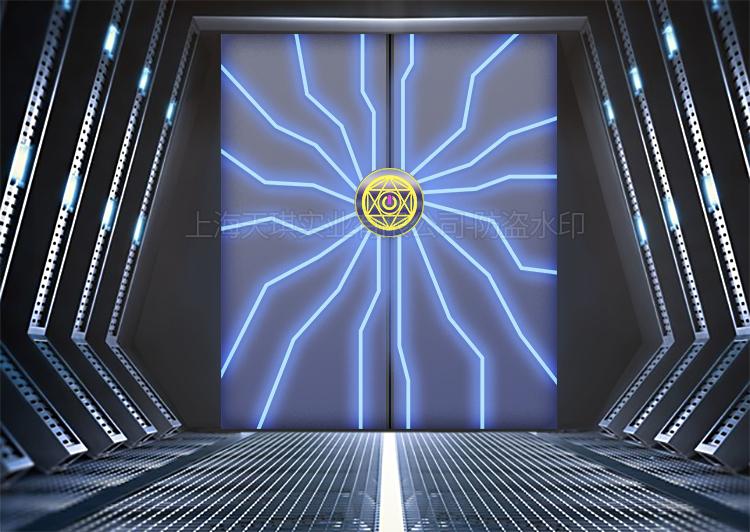 网红电动平移门