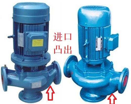 GW排污泵进口方向
