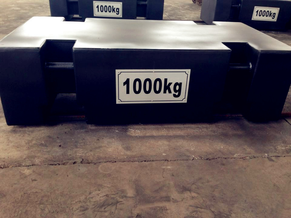 1000kg标准砝码