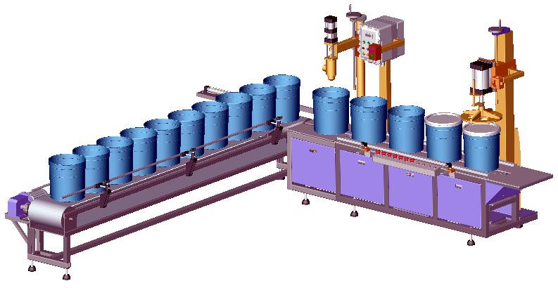 全自动化工液体灌装机