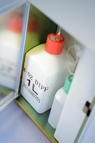 迈瑞全自动五分类血球分析仪BC-5000试剂放置
