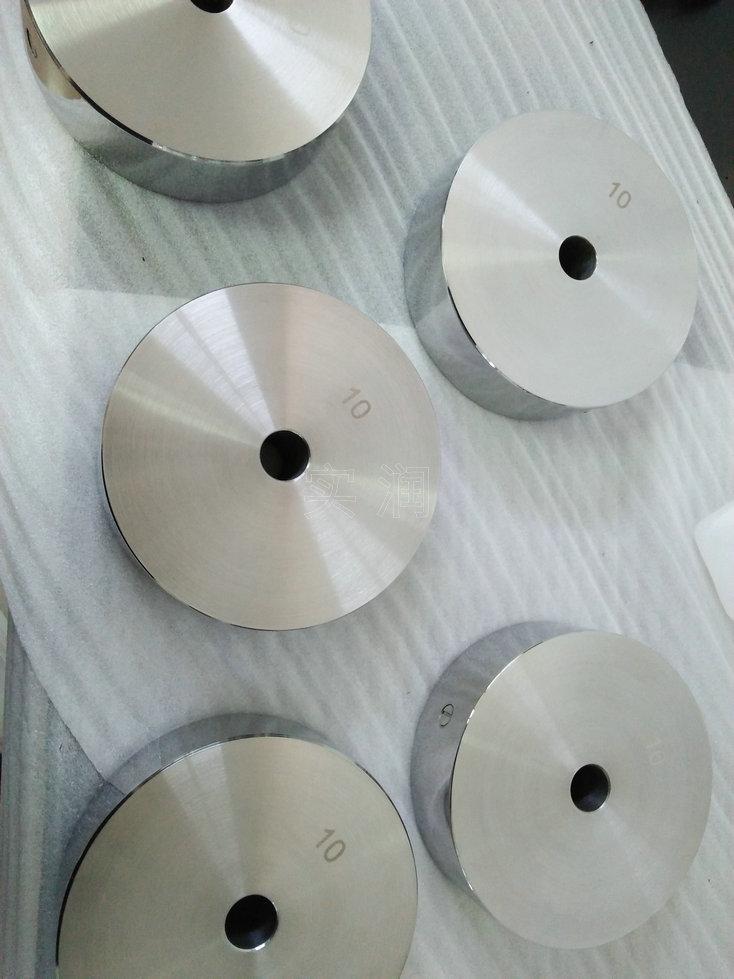 圆形不锈钢砝码直径