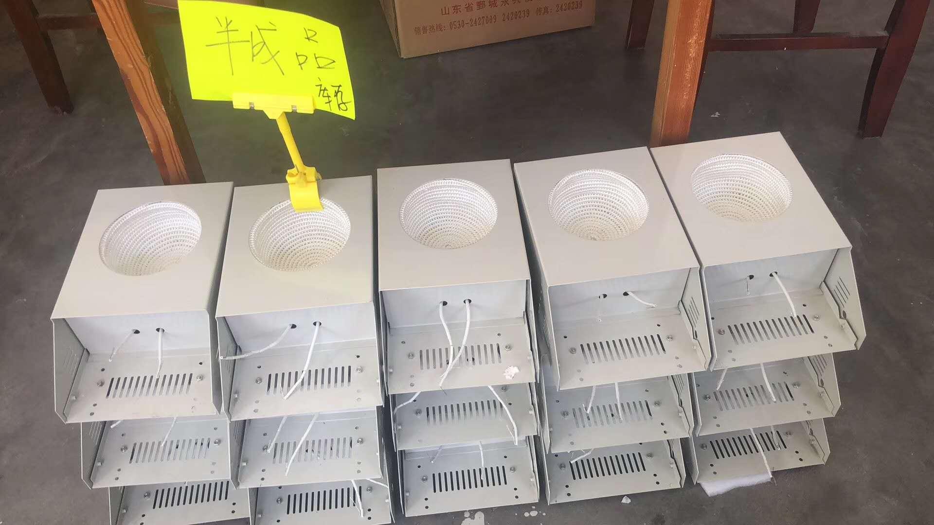 型KDM调温电热套生产中
